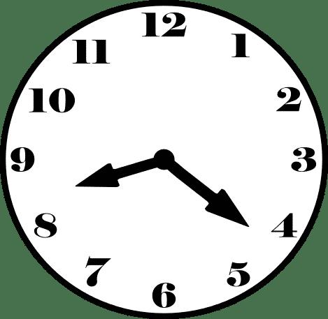 часы 20-22